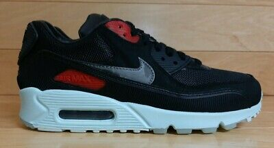 Nike Air Max 90 Premium Size 6.5 Vinyl Black Cool Grey Teal Tint CK0902 001   eBay