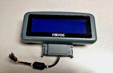 Micros Pos Rear Facing Customer Display For Ws5 Ws5a 400801 001