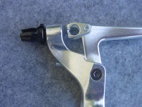 Tektro Bremshebel-Set CL740 Aluminium Silver or Black 1 Pair for V-Brakes