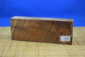 Stabilized-Myrtle-Burl-Knife-Scales-Handle-Block-Pen-1753