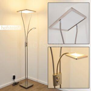 Détails sur Lampadaire à vasque LED Lampe sur pied Variateur tactile Lampe  de bureau 176536