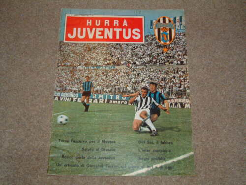1965 Fairs Cup Final Juventus v Ferencvaros June Hurra Issue Very Good Condition