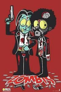 PULP-FICTION-POSTER-JULES-amp-VINCENT-ZOMBIES