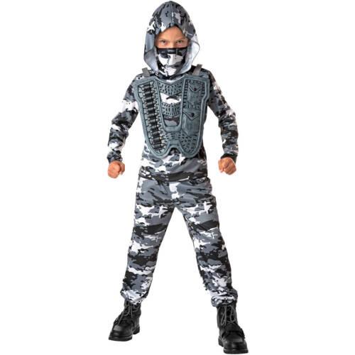 Neige Commando CHILD DRESS UP//jeu de rôle Costume Taille S