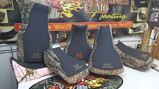 SUZUKI KING QUAD 300 REALTREE seat cover new black gripper & camo 1999 & UP