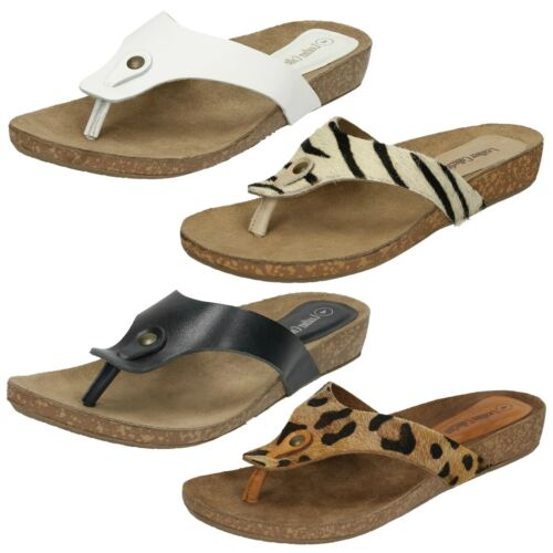 Ladies Leather Collection Casual Toe - Post Sandals