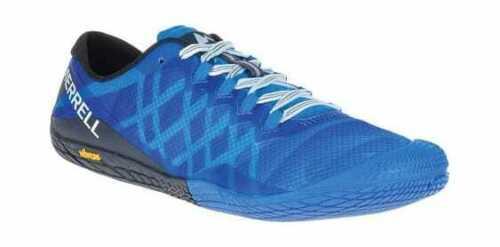 Men/'s Merrell Vapor Glove 3 Trail Running Shoe Directoire Blue Mesh