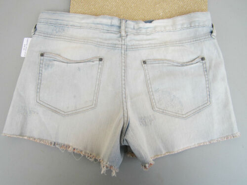 in Distressed 30 Nwt Ladies Jean Free Cut Warner Offs Denim People Blu Pantaloncini Yxqgq1Zw