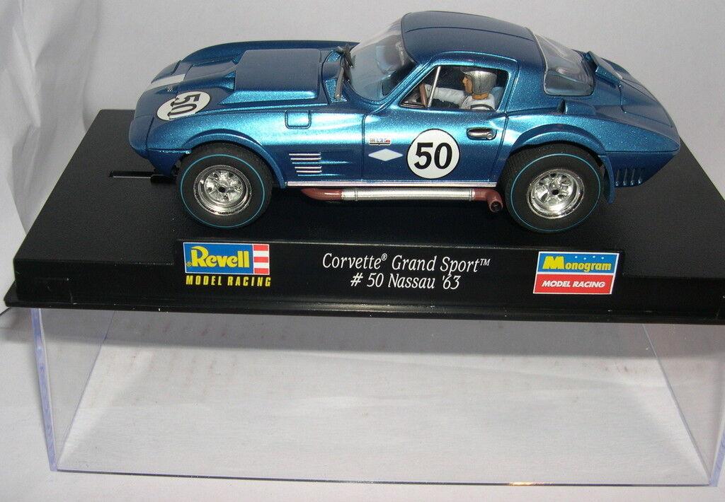 Revell 08317 Slot Car Corvette Grand Sport #50 Nassau '63 MB