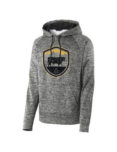Crest Sts225eb Hood Ranchwear Herren Western Sts Sweatshirt Schwarz Sqp1AOz