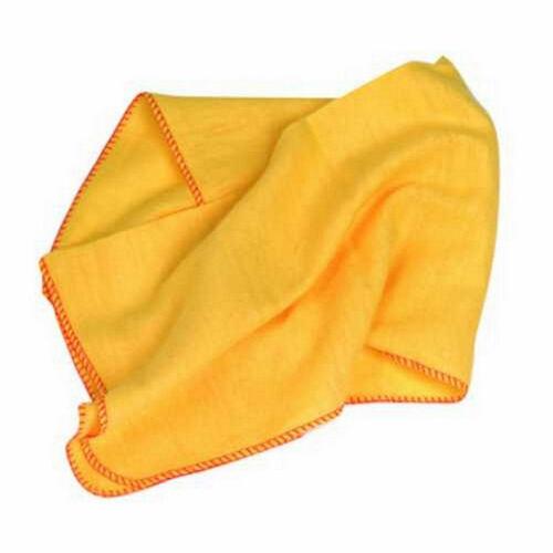 Extra Grande Jumbo gran Amarillo Suave Paños De Tela Para Polvo Plumero Limpia