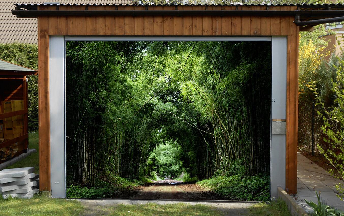3D Dense woods 77 Garage Door Murals Wall Print Decal Wall Deco AJ WALLPAPER UK