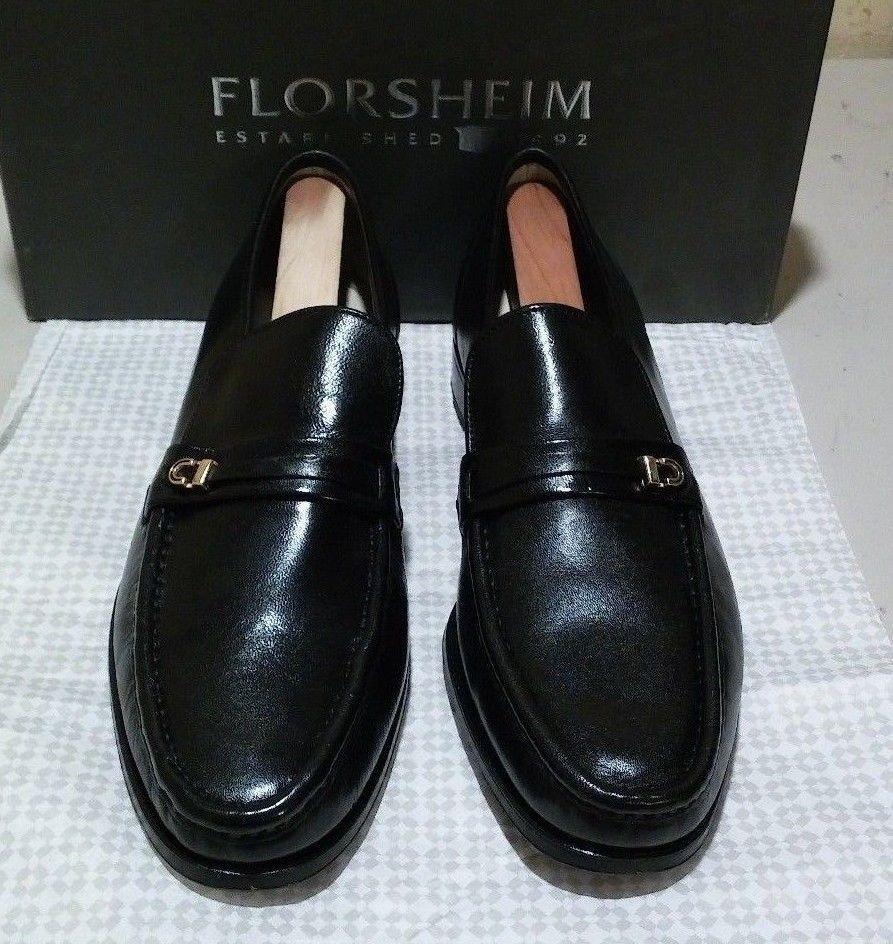 New Florsheim schwarz Imperial Como 14 AA schwarz Florsheim (503) 496725