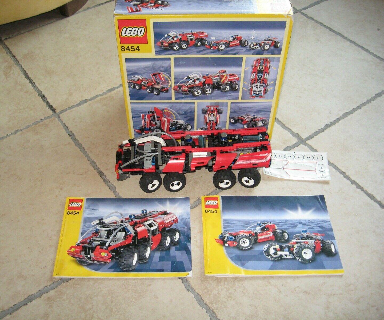 LEGO TECHNIC 8454 2 versioni in 1,  completo 100%