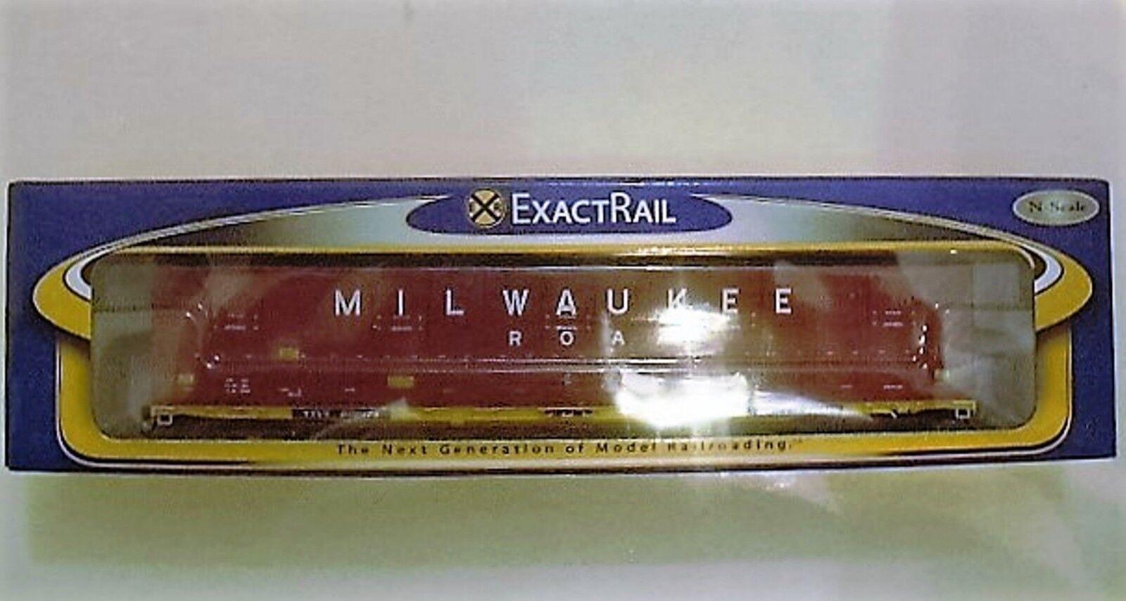 2011 EXACTRAIL EN-50502-3 – N SCALE – green-A-PAC – MILWAUKEE ROAD TTVX 802174