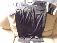 Nike Black Mesh Practice Football Jersey Boys Size Xxl Brand Free Shipping