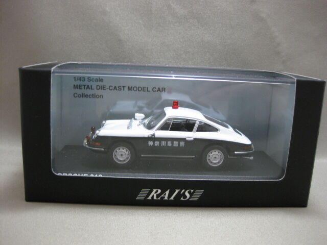 KYOSHO PORSCHE 912 1 43 Scale Diecast Model Police traffic riot police vehicle