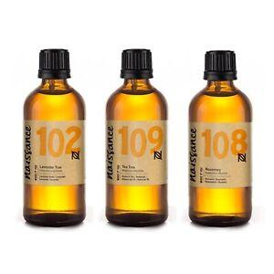 Naissance-Lavender-Tea-Tree-amp-Rosemary-Essential-Oil-3-x-100ml
