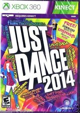Just Dance 2014  (Xbox 360, 2013)    Factory Sealed Cellophane