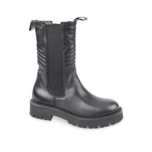 VALLEVERDE 28642 Ankle boot stivale nero pelle