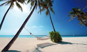 Maldives-Tropical-Paradise-Beach-Scene-Giant-Poster-A5-A4-A3-A2-A1-A0-Sizes