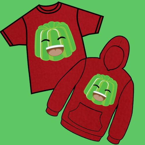 Smile Jelly Gammer Merch Youtuber Player Kids T-Shirt Hoody