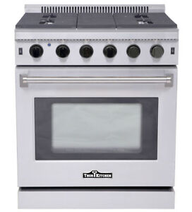 Image Is Loading 30 034 Pro Style Stainless Steel Gas Thor