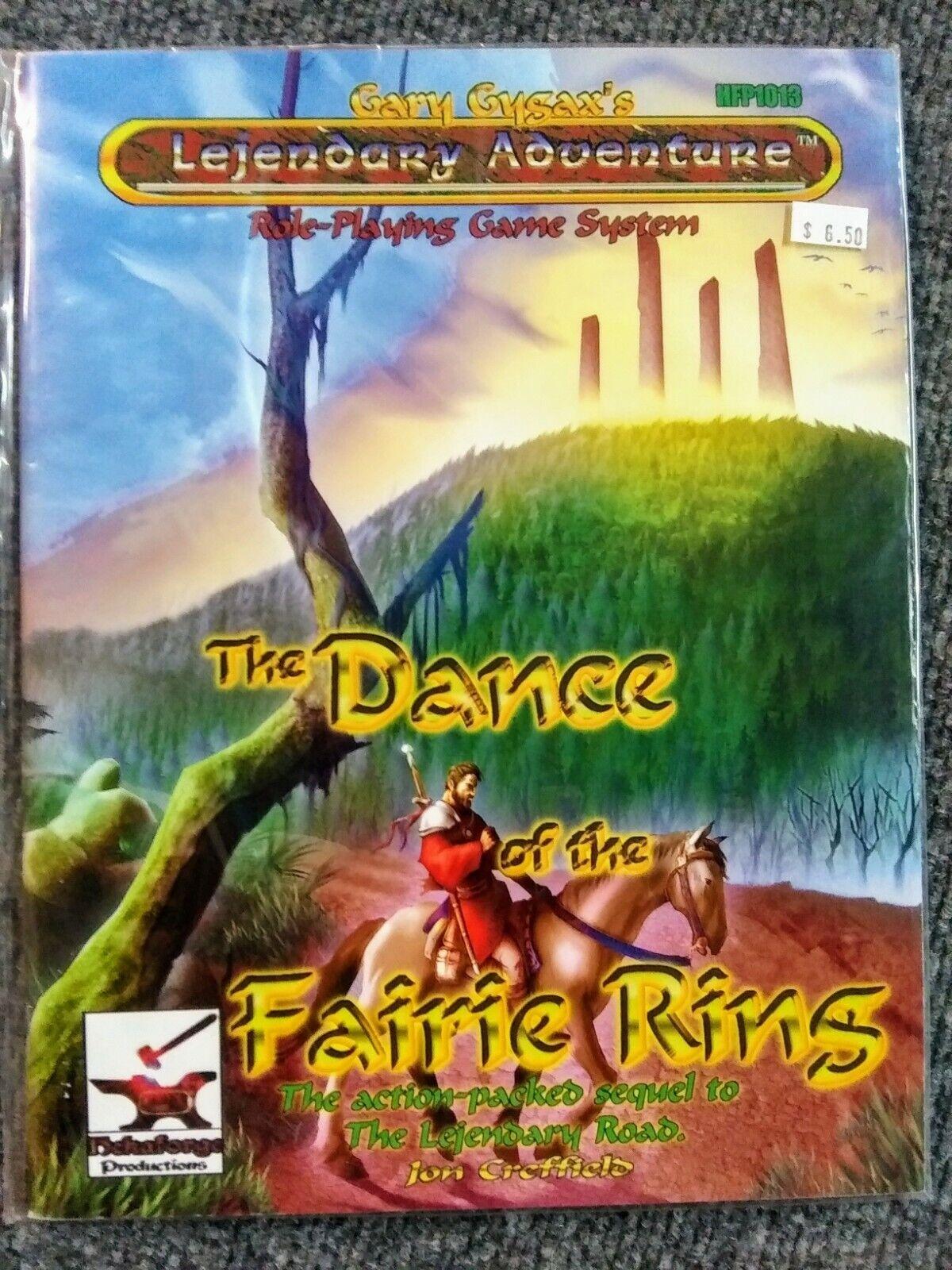 Lejendary Adventures Dance of  the Fairie Ring SC nuovo RPG Hekaforge Prod  grande sconto