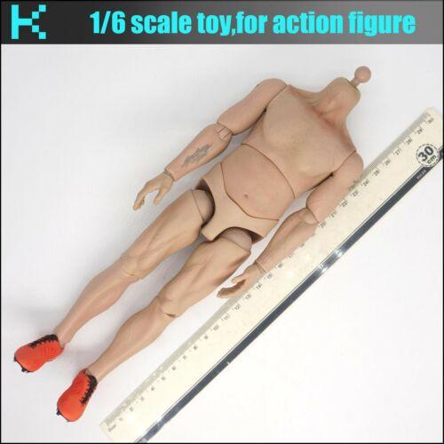 W ST37 1//6 scale ZCWO Football player body
