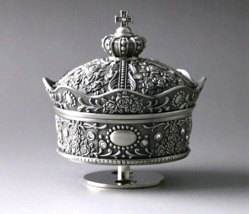 Tin Alloy Crown Design Music Box ♫  Final Fantasy Theme Soundtrack ♫