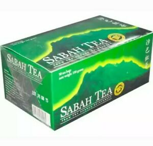 NEW-Sabah-Tea-Borneo-Rainforest-100-Pesticide-Free-50-Bags-100g
