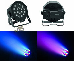 faro faretto 36 led rgb dmx luci strobo flash musica