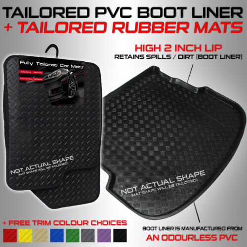 BOTTOM RHD PVC Boot Liner Rubber Car Mats Toyota Yaris Hybrid 2013+