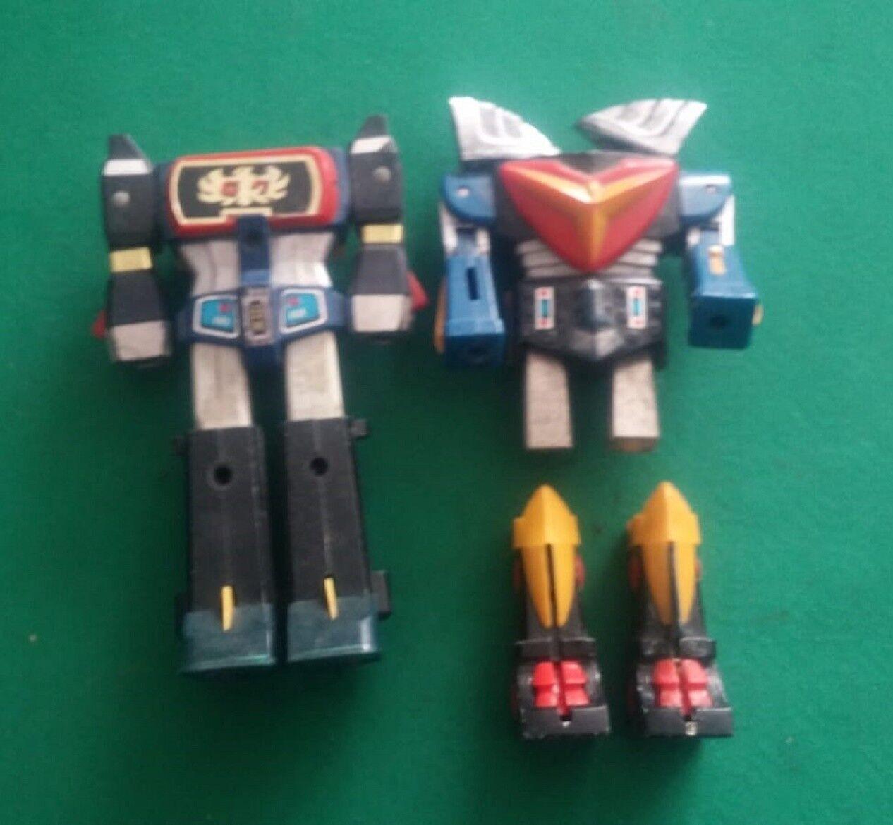 LOTTO DAITARN 3 TRIDER G7 - 2 ROBOTS - ROBOT - VINTAGE TOYS