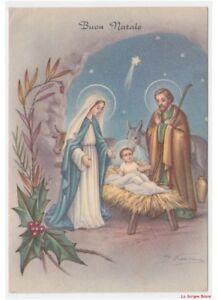 Immagini Sacre Di Buon Natale.Dettagli Su Sacra Famiglia Nativita Gesu Bambino Cartolina Religiosa Vintage Di Buon Natale