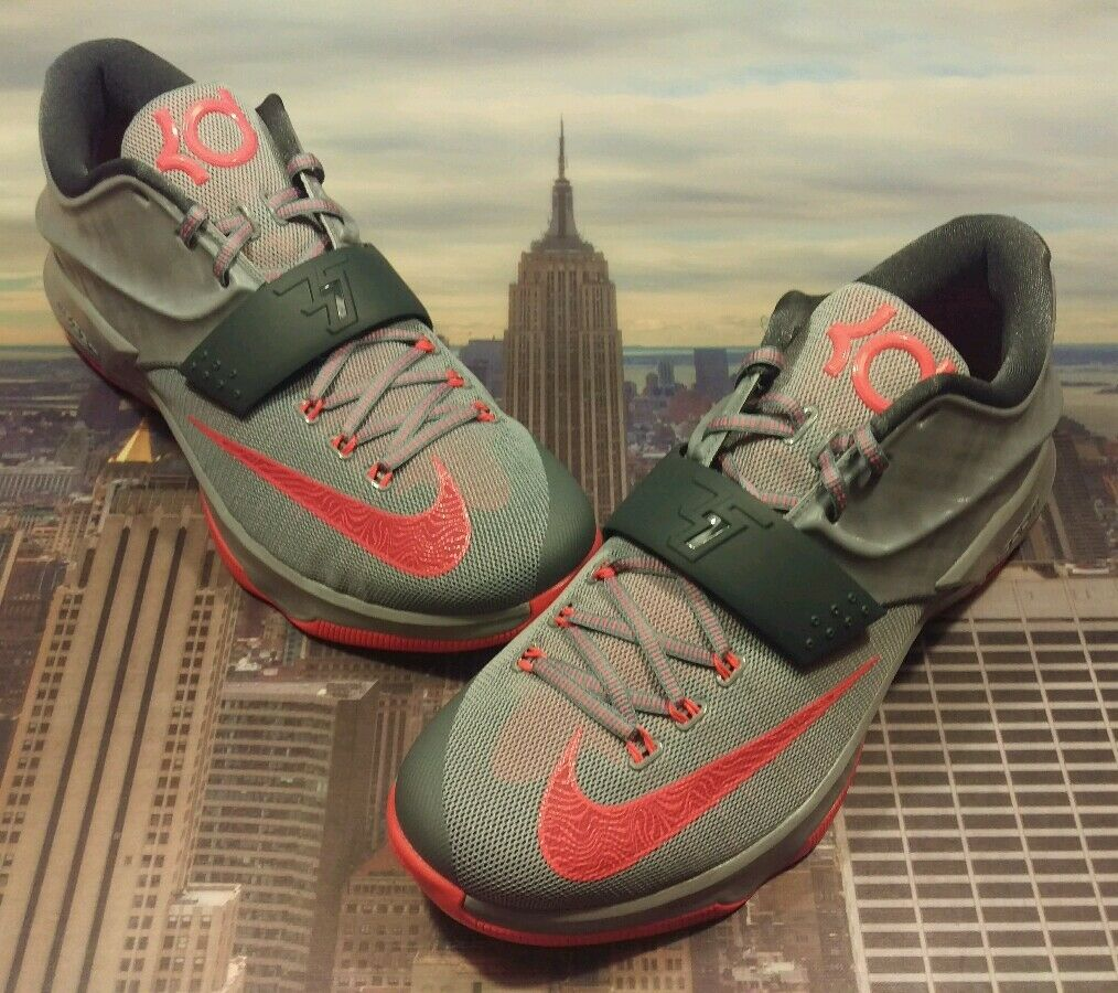 Nike KD VII 7 Calm Before The Storm Magnet Grey Men's Size 12.5 653996 060 New