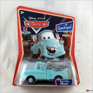 Disney Pixar Cars Supercharged Series Brand New Mater Blue Tow