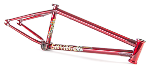Fit Bike Co Salvaje Marco 21 Trans rojo Matt Nordstrom Edition 21  bicis de bmx