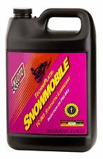 KLOTZ KL216  TC-W3 oil (1 Case of 4 Gallons of Snowmobile Techniplate)