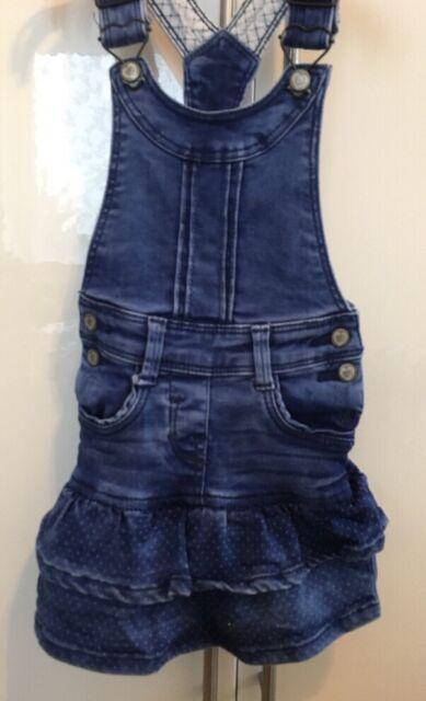 S.oliver Mädchen Jeans Kleid blau 98 Top!