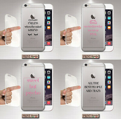 Cover For , Wiko, Silicone, Soft, Phrases, Clear, Text, Mean Girls, Delicate | eBay