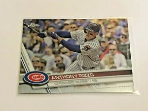 2017-Topps-Chrome-Baseball-Base-Card-Anthony-Rizzo-Chicago-Cubs