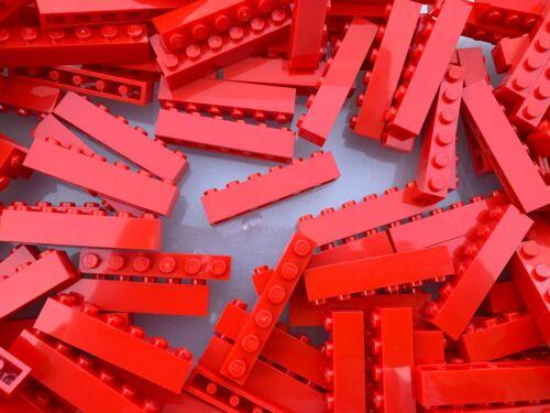 Lego 3009-Nuevo Rojo 1x6 ladrillos//10 piezas por pedido