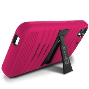 Para-HTC-Desire-626-626S-CASE-ROSA-Hybrid-ALTA-RESISTENCIA-FUERTE-Telefono-Cubierta-De-pie
