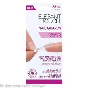 Elegant-Touch-Nail-Guards-Protective-Nail-Strips-36-Nail-Strips-9-Sizes
