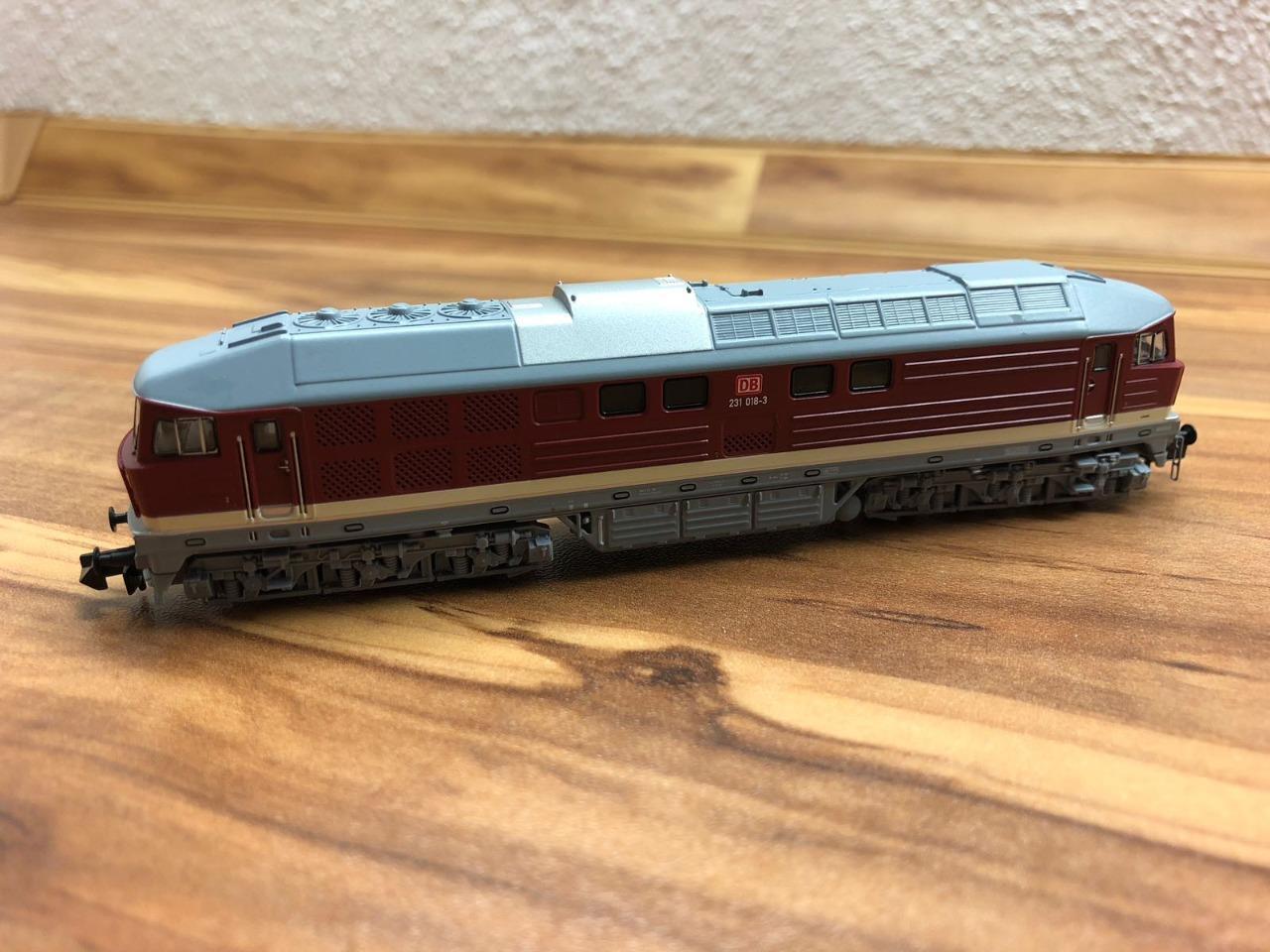 Arnold HN2298 - BR 231 DB AG - N N N scale DCC NEW IN BOX    16bc41