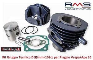 Gruppo-Termico-Cilindro-Pistone-RMS-D-55mm-102cc-per-Piaggio-Vespa-50-Special