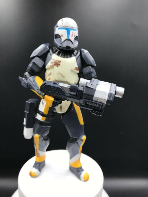 STAR WARS Republic Commando Delta Squad Clone Trooper SCORCH 3.75