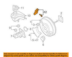 OEM VW Audi 5G0-698-459 Brake Light Switch CC Beetle Jetta Passat Tiguan A3 GTI
