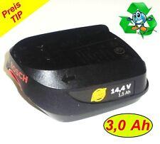Original Bosch Akku 14,4 V Li   4ALL  PSR  m. 3 Ah Samsung Zellen  3000 mAh